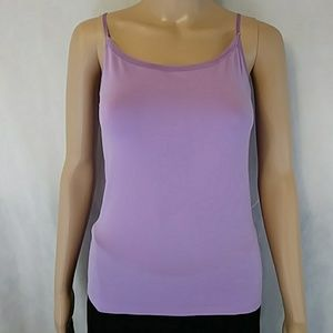 Nwot Ann Taylor purple seamless adjustable tank